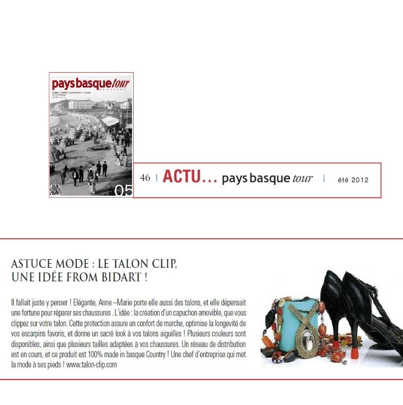 Talon clip sur Pays Basque Tour